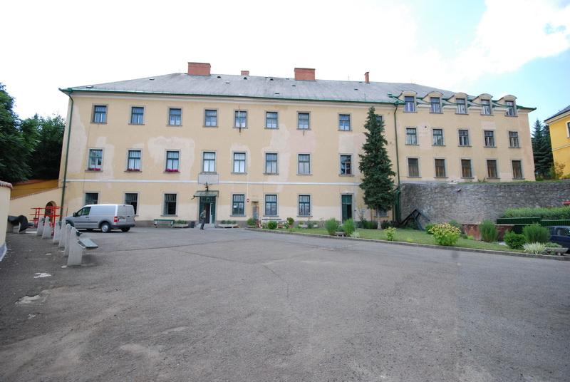 1. Kollégium keleti homlokzat